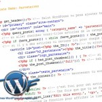 Modèle de page WordPress